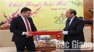 Đại sứ Israel đề xuất triển khai 3 dự án tại Bắc Giang