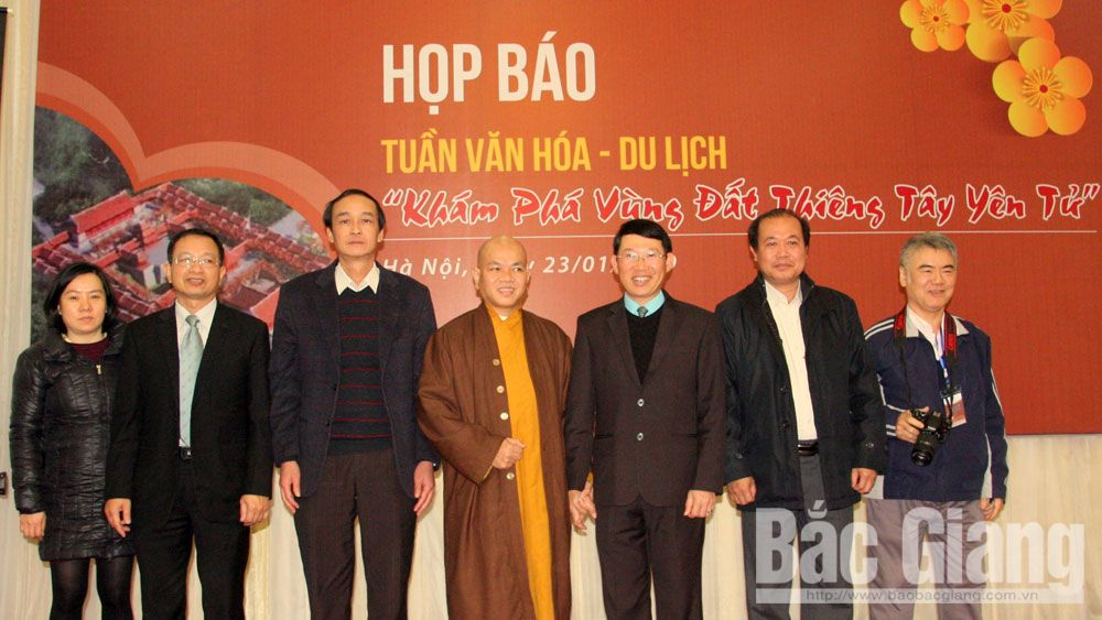 Tay Yen Tu CultureTourism Week scheduled on February 14-20