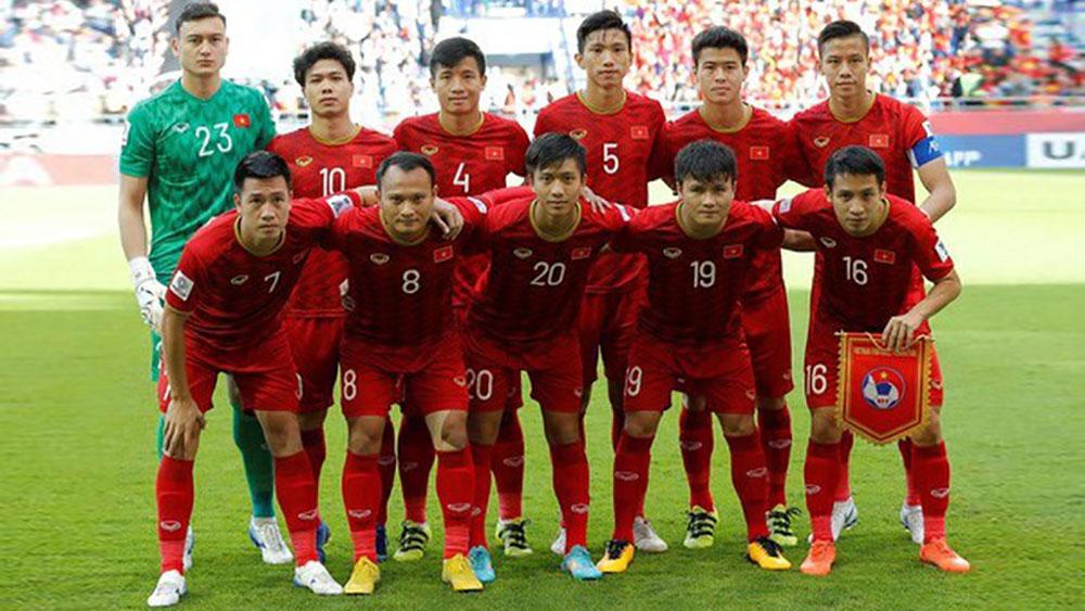 Bảng xếp hạng FIFA 8 đội mạnh nhất Asian Cup 2019: Việt Nam thứ mấy?
