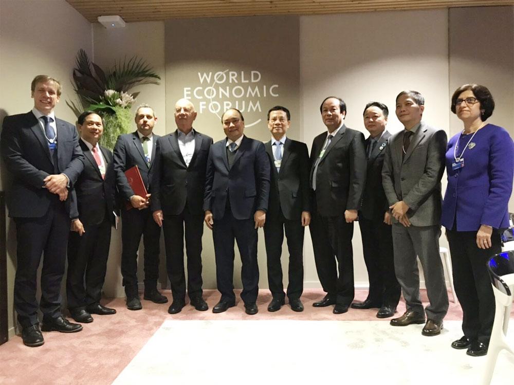 Việt Nam, WEF, ký thỏa thuận hợp tác về CMCN 4.0, Thỏa thuận với WEF