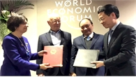 Việt Nam và WEF ký thỏa thuận hợp tác về cách mạng công nghiệp  4.0