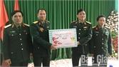 Thiếu tướng Ngô Minh Tiến, Phó Tổng tham mưu trưởng QĐND Việt Nam kiểm tra, chúc Tết huyện Sơn Động