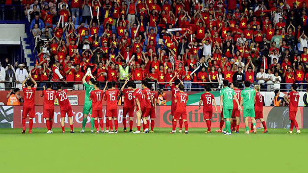 Đội tuyển Việt Nam về nước sau hành trình vinh quang ở Asian Cup 2019