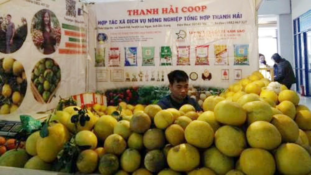 Local staples, Hanoi's spring fair 2019, safe agro-forestry-fishery products,  handicrafts, 150-booth fair, regional fruits