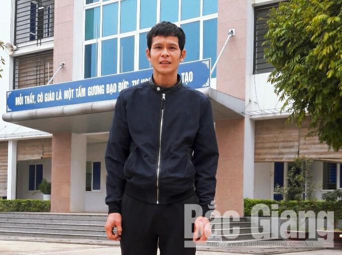 thầy Thân Văn Sơn, cứu người, THPT Giáp Hải, TP Bắc Giang
