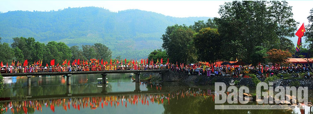 Luc Nam district, impressive destination, Bac Giang province, discovery journey, Tay Yen Tu, Spring Festival, Culture- Tourism Week, Discovering the holy land Tay Yen Tu, Vinh Nghiem pagoda