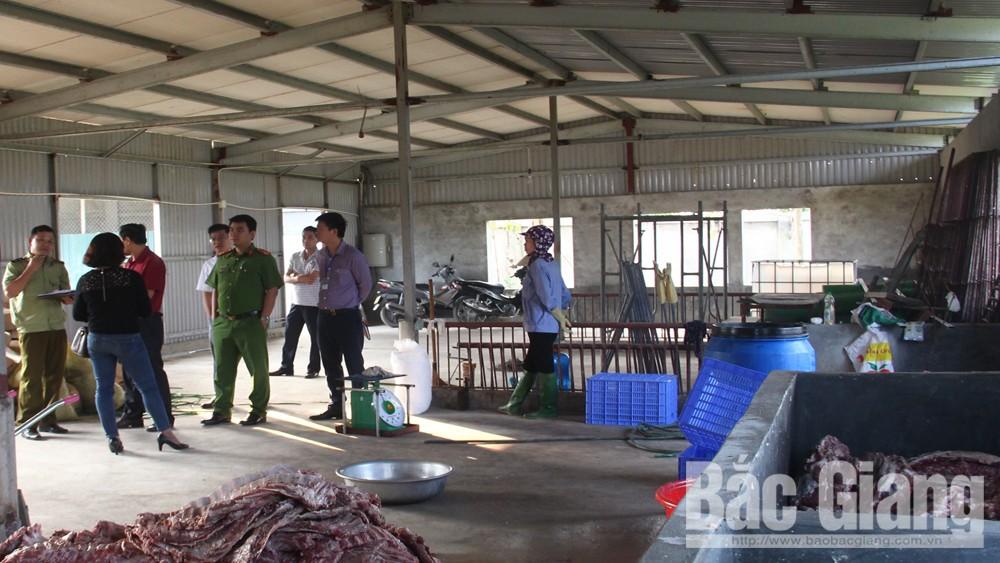 Huyện Hiệp Hòa xếp loại xuất sắc trong công tác quản lý về an toàn thực phẩm