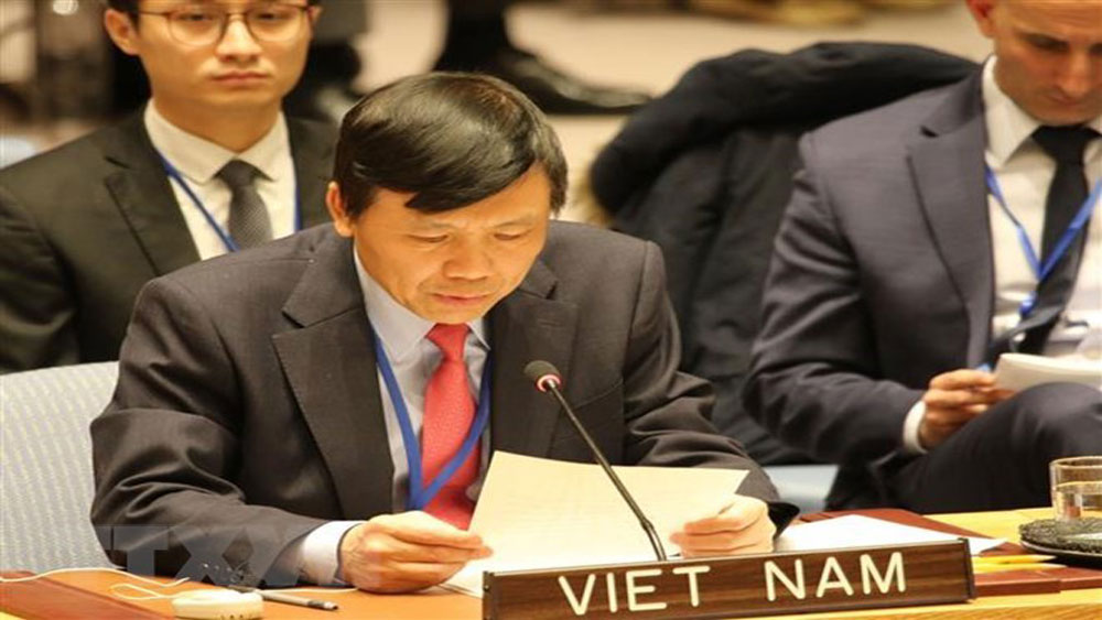 Vietnam joins call for UNSC's action to deal with climate change