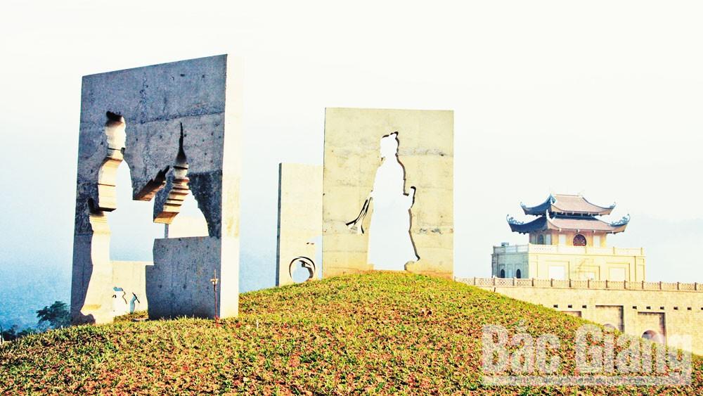 Tây Yên Tử, Bắc Giang, Phật hoàng, không gian văn hóa