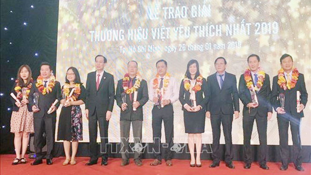 27 most popular Vietnamese trademarks in 2019 announced