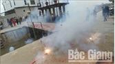 Lạng Giang: Xử phạt hai trường hợp đốt pháo nổ trái phép