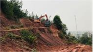 UBND tỉnh chấp thuận giải pháp chống sạt lở núi Non Cao (Lục Nam)