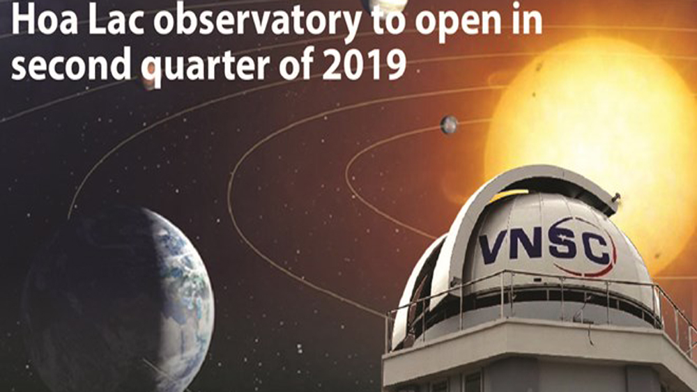 Hoa Lac observatory to open in Q2