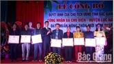Xã Chu Điện đạt chuẩn nông thôn mới