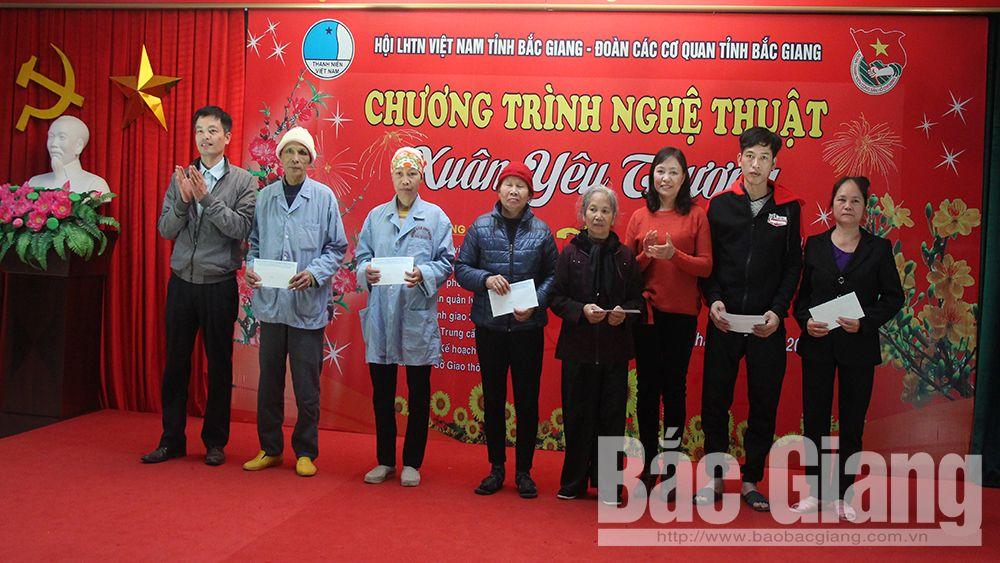 Bắc Giang, âm nhạc, bệnh viện, đoàn viên, thanh niên, Xuân yêu thương, Bệnh viện Ung bướu