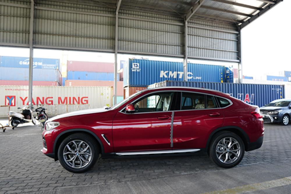 BMW, BMW X4, BMW 4 2019, cảng Sài Gòn, thế hệ thứ hai