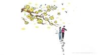 Thấp thoáng mùa xuân