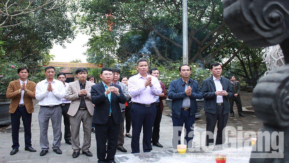 Cung nghinh tượng Trúc Lâm Tam Tổ về chùa Vĩnh Nghiêm (Yên Dũng)