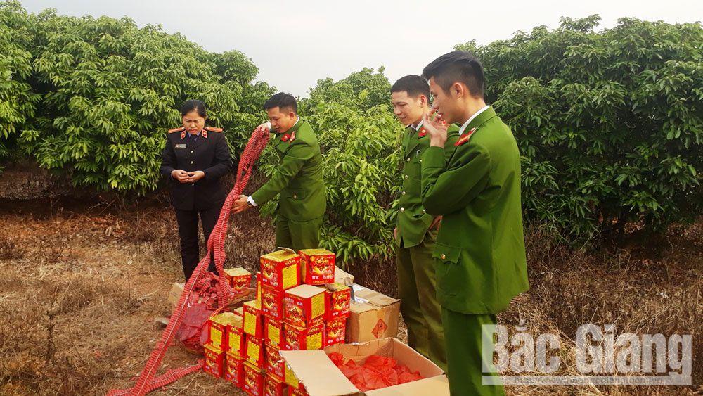 Bắc Giang, Lục Ngạn, tiêu hủy, hơn 125 kg, pháo nổ