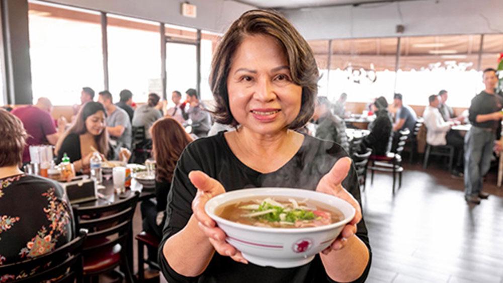 Nhà hàng phở Việt ở Mỹ đạt giải 'Oscars ẩm thực'