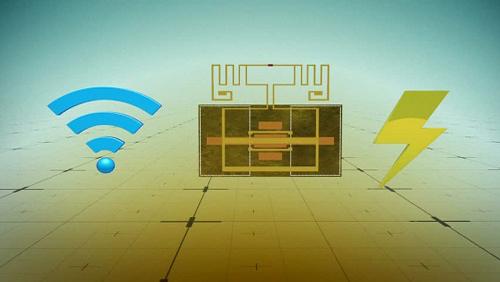Thiết bị biến sóng wifi thành điện sạc smartphone