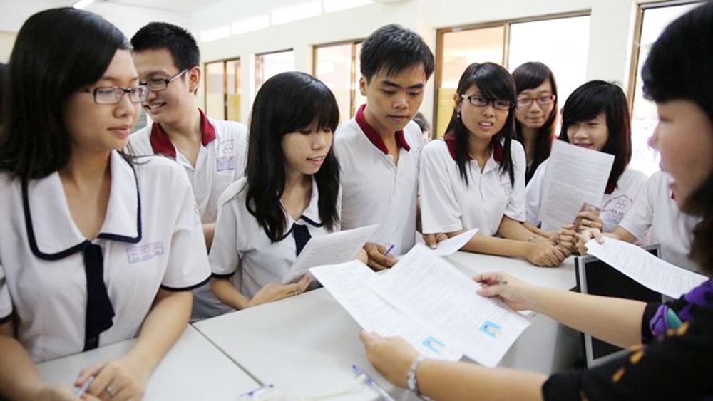 Bộ Giáo dục và Đào tạo, công bố, dự thảo, sửa đổi Quy chế thi THPT quốc gia