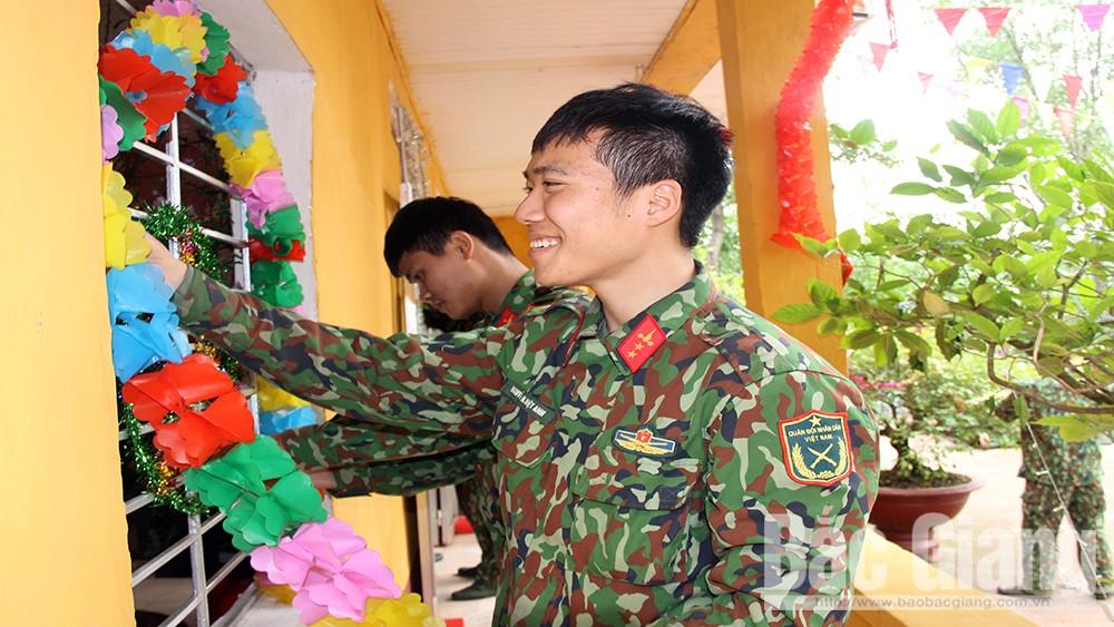bộ đội Quân đoàn 2 đón xuân, hoạt động vui xuân