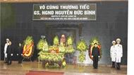 Tổ chức trọng thể Lễ tang đồng chí Nguyễn Đức Bình