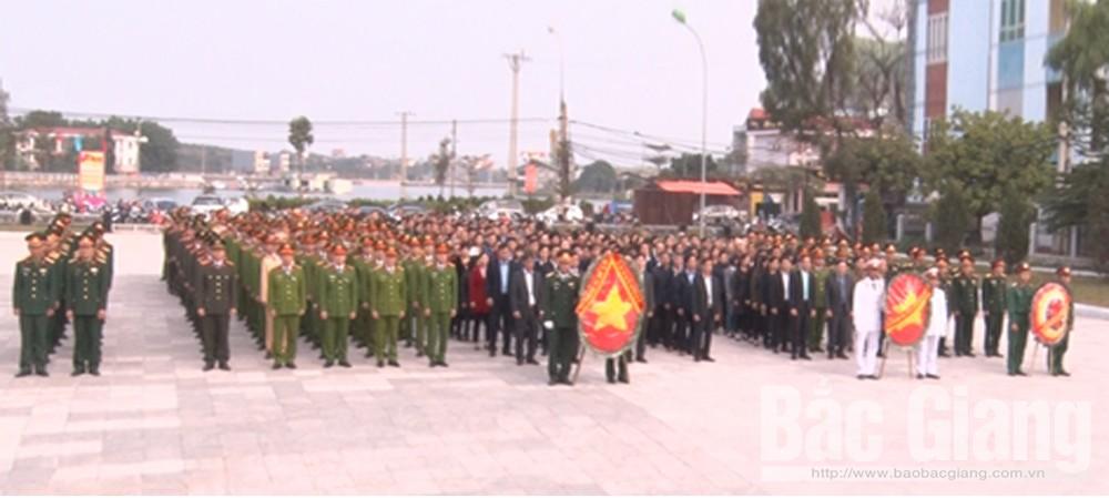 Lục Nam viếng nghĩa trang các Anh hùng liệt sĩ