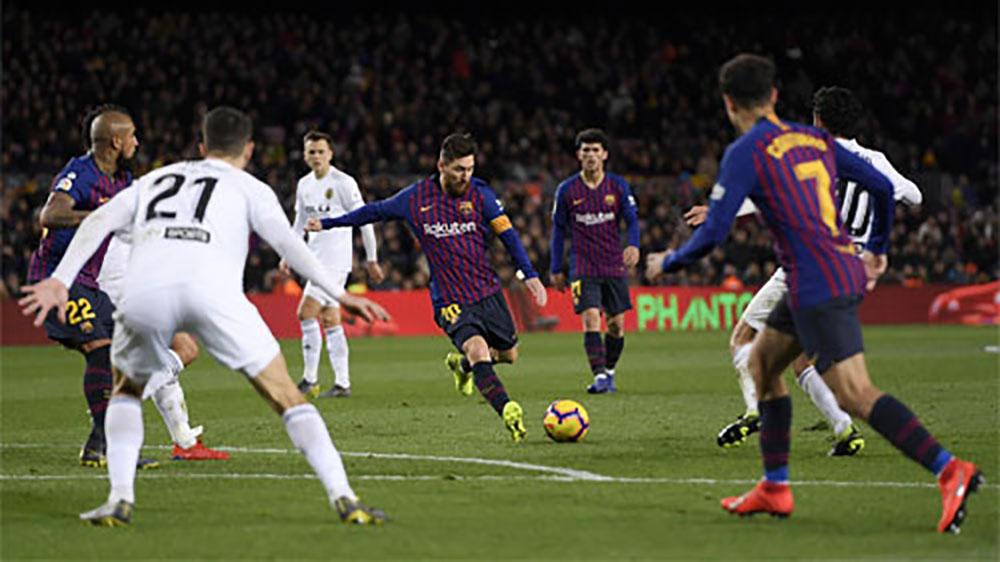 Messi, Barca, Valencia, La Liga