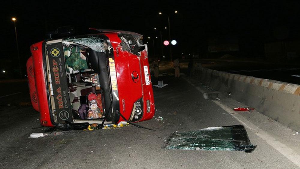 Vụ ô tô khách biển kiểm soát 72B-019.34 gây tai nạn trên tuyến Quốc lộ 51: Có 19 hành khách đã xuất viện