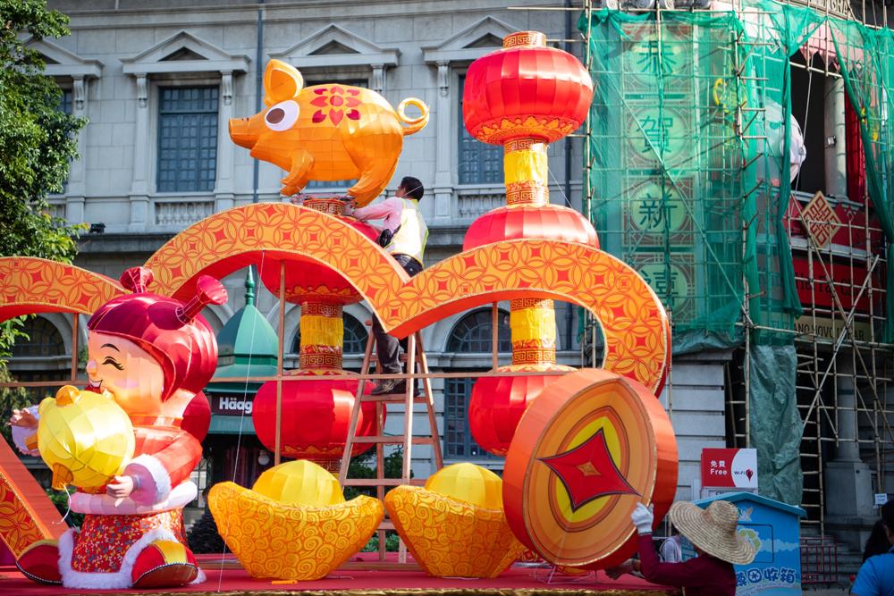 Châu Á, rộn ràng, chào đón Tết Nguyên đán, Kỷ Hợi 2019