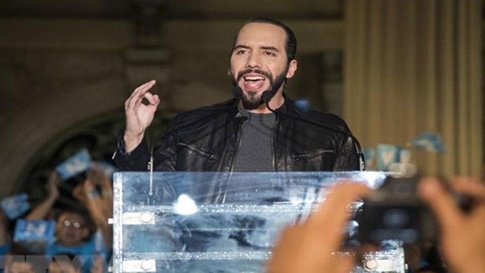 Bầu cử Tổng thống El Salvador: Ông Nayib Bukele đang dẫn đầu