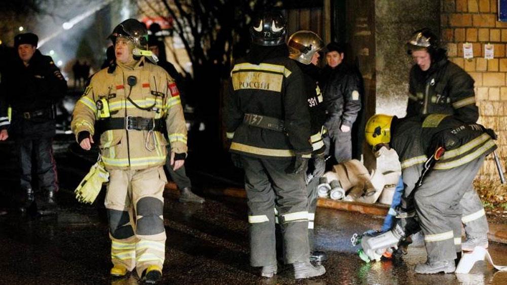Nga: Cháy khu căn hộ cao cấp ở thủ đô Moskva, nhiều người thương vong