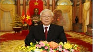 Tổng Bí thư, Chủ tịch nước Nguyễn Phú Trọng chúc mừng năm mới