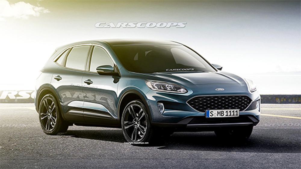 Lộ diện Ford Escape 2020, escape, SUV