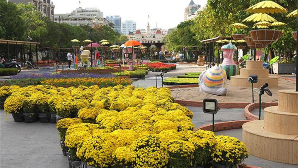 Book street festival, flower street open in HCM City