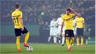 Dortmund bị loại khỏi Cup Quốc gia Đức