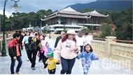 Mùng 2 Tết, Khu du lịch tâm linh - sinh thái Tây Yên Tử đón hơn 5 nghìn lượt du khách