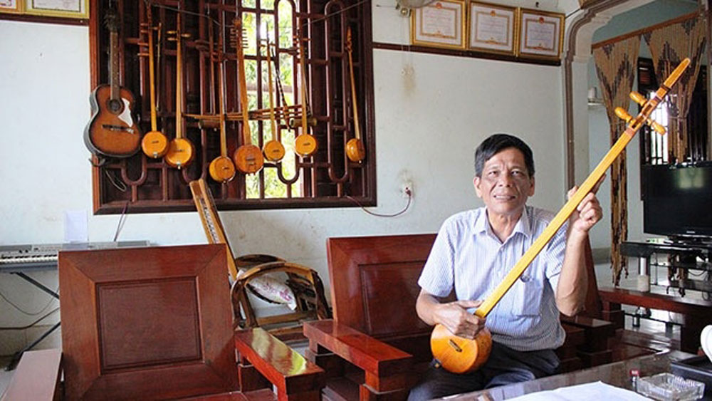 Sweet Then melodies, basalt land, Tinh gourd lute, unique folk art,  Tay and Nung ethnic groups, ethnic minority people,  Meritorious Artisan Nong Van Huu