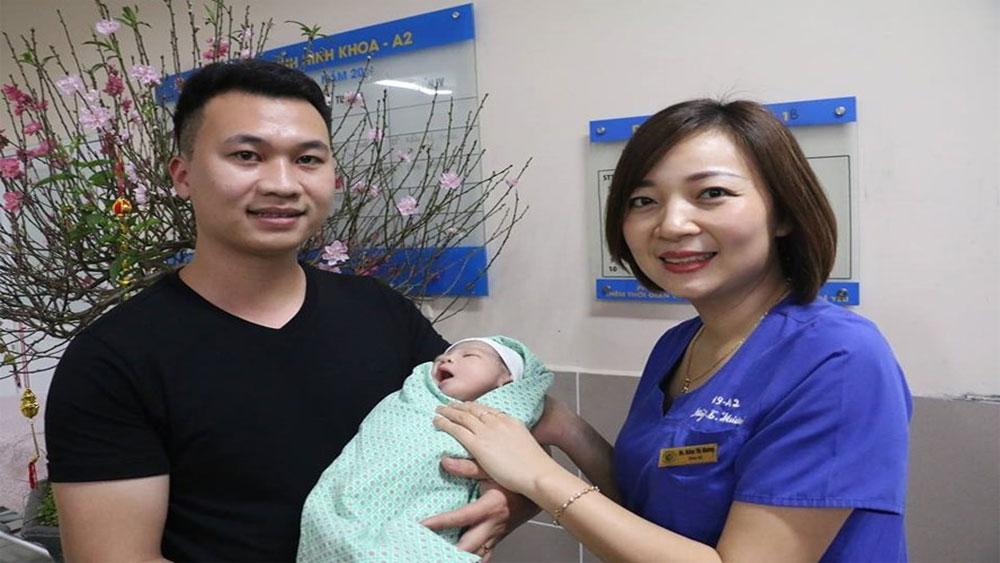 Hơn 3.400 trẻ chào đời trong 5 ngày nghỉ Tết Nguyên đán Kỷ Hợi