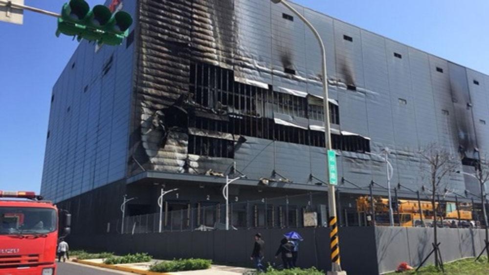 Cháy nhà kho ở Đài Loan, ba lao động Việt tử vong