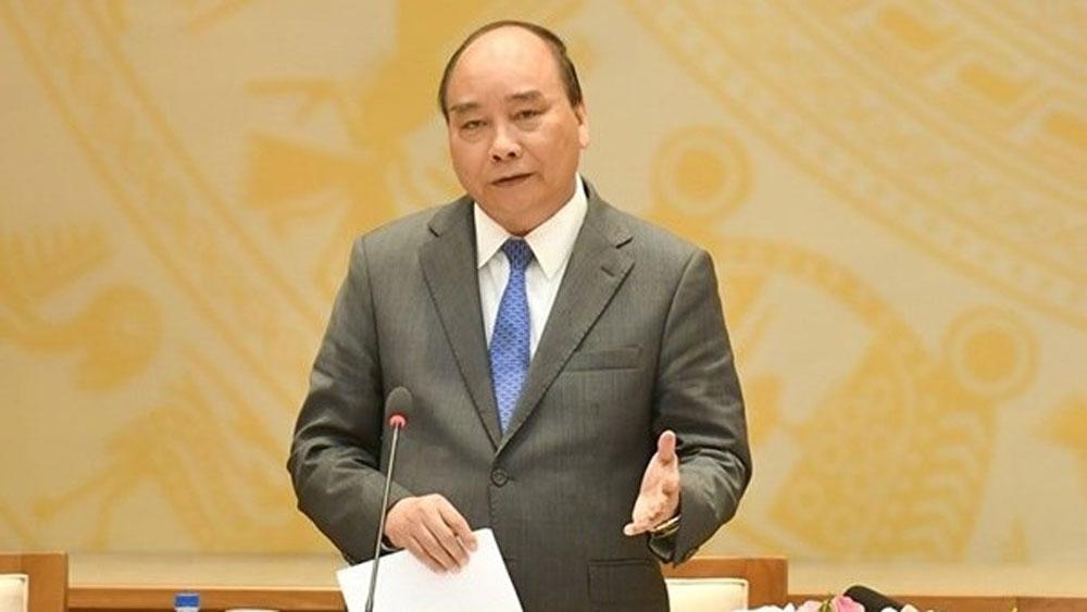 Prime Minister, Nguyen Xuan Phuc, citizen reception efficiency, officials and public servants, legal regulations,  political security