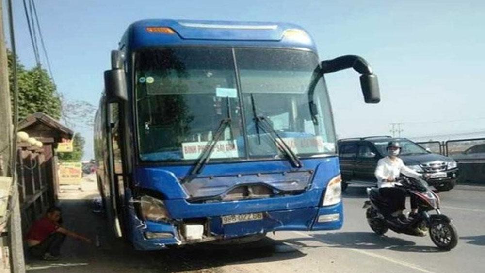 Tai nạn thảm khốc, xe khách tông xe 7 chỗ, 3 người đi chúc Tết, tử vong, Thanh Hóa