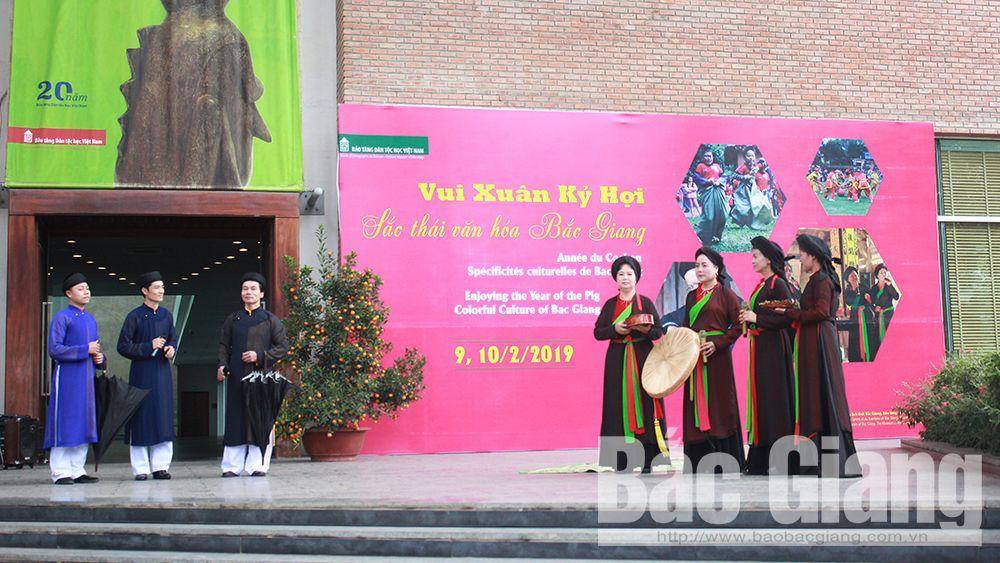 """Đông đảo du khách tham gia chương trình """"Sắc thái văn hóa Bắc Giang"""" tại TP Hà Nội"""