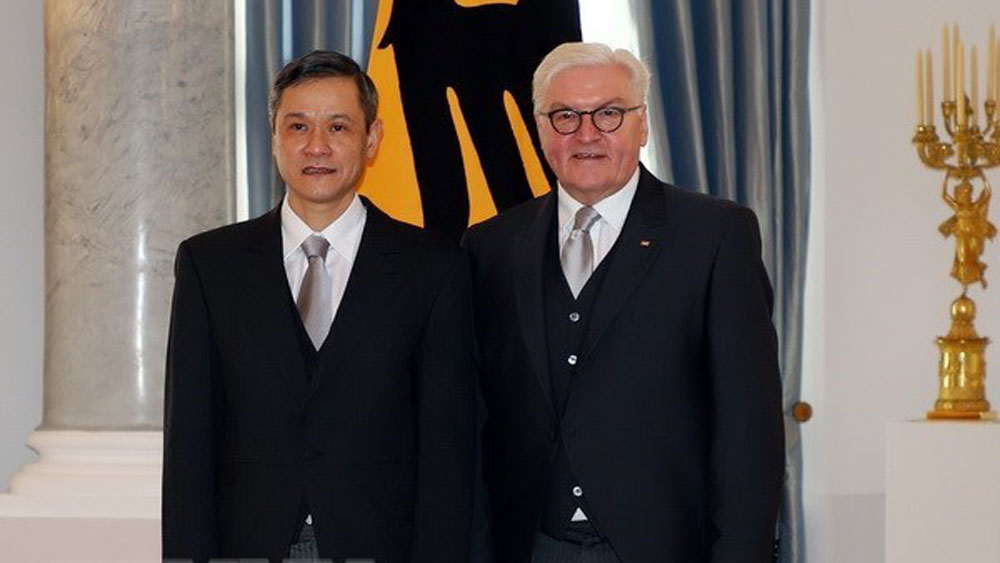 Vietnam, enhance ties, Germany, strategic partnership, leading partner, newly-accredited Vietnamese Ambassador to Germany, Nguyen Minh Vu, bilateral ties, socio-economic development