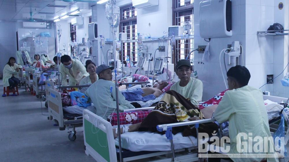 Bệnh nhâ nhập viện, Thời tiết dịp Tết, tai nạn giao thông, Tết, Bệnh viện Đa khoa tỉnh, Bệnh viện Sản - Nhi tỉnh