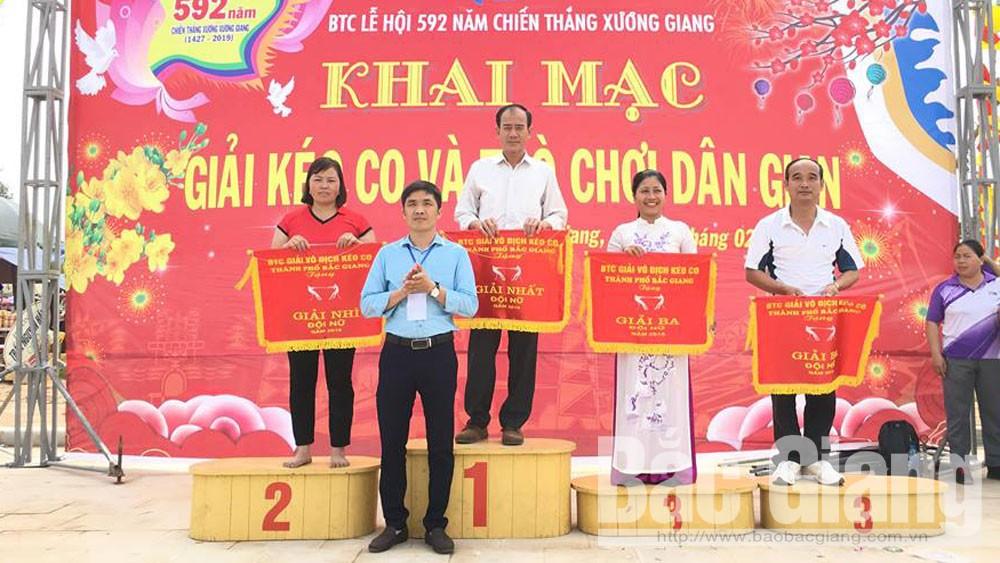 TP Bắc Giang, giải vô địch, kéo co, năm 2019