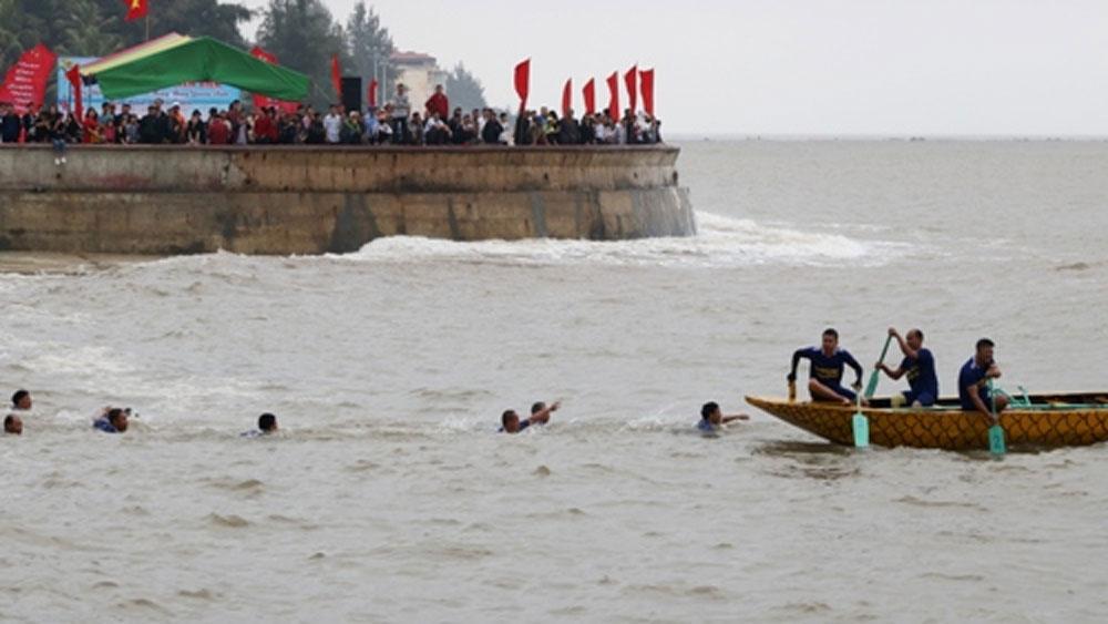 Vận động viên bị lật thuyền rồng trên biển Đồ Sơn tử vong