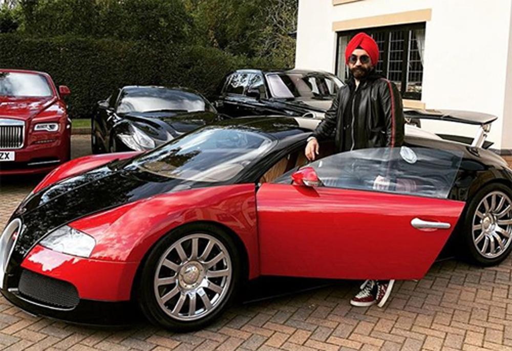 Reuben Singh Rolls-Royce xe siêu sang